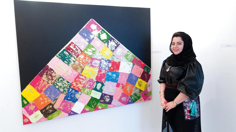 الفنانة ومصممة الديكور اللبنانية رويدا حكيم. تصوير: أحمد عرديتي