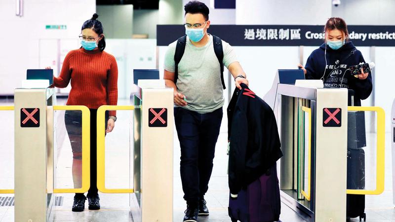 حظر السفر قد يكون مفيداً للحد من انتشار الوباء. أرشيفية