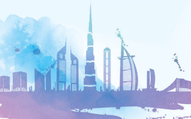 الصورة: بالغرافيك : دبي تتجاوز المعدّلات العالمية وتستقبل 16.73 مليون زائر دولي في 2019