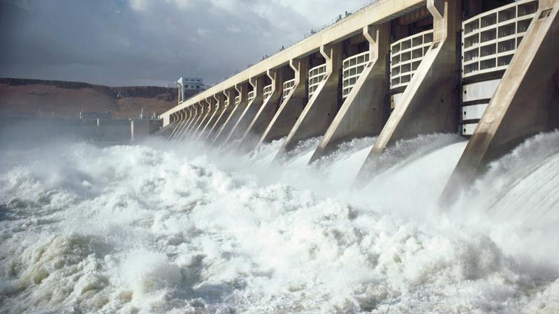 مصر ليست في وضع مائي خطر، بفضل السد العالي.  أرشيفية