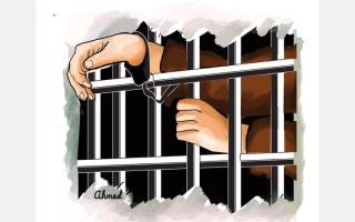 الصورة: «وليد» سجين على ذمة قضية مالية ويحتاج إلى 759.7 ألف درهم للعودة إلى أسرته