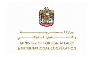 الصورة: الإمارات تؤكد تضامنها ودعمها للشعب اللبناني