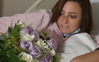 الصورة: الفنانة بشرى ترد من المستشفى: لست مصابة بـ«كورونا».. كفى شائعات