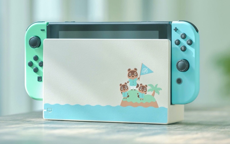 الصورة: «نينتندو» تطلق إصداراً خاصاً من جهاز الألعاب «Switch»