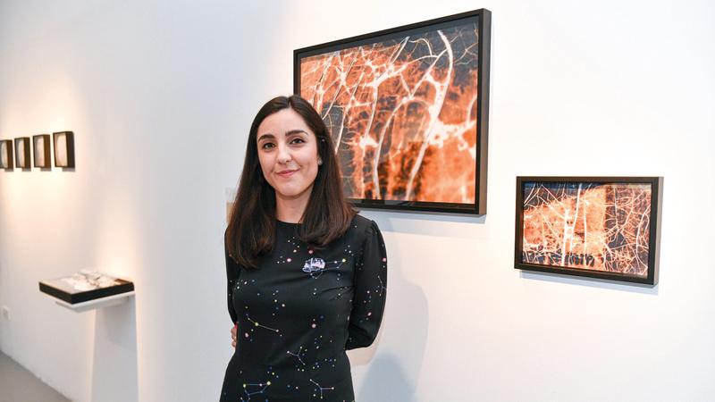 سيلفيا هرناندو ألفاريث:  «التحضير للمعرض استغرق ما يقارب العام من العمل المتواصل، ضمن برنامج ممارسة نقدية مع مركز تشكيل».