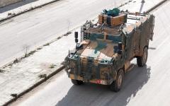 الصورة: مقتل جندي تركي في سورية