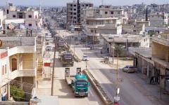 الصورة: مقتل 5 جنود أتراك بقصف سوري في إدلب