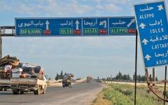 الصورة: الجيش السوري يستعيد كامل طريق حلب - دمشق الدولي