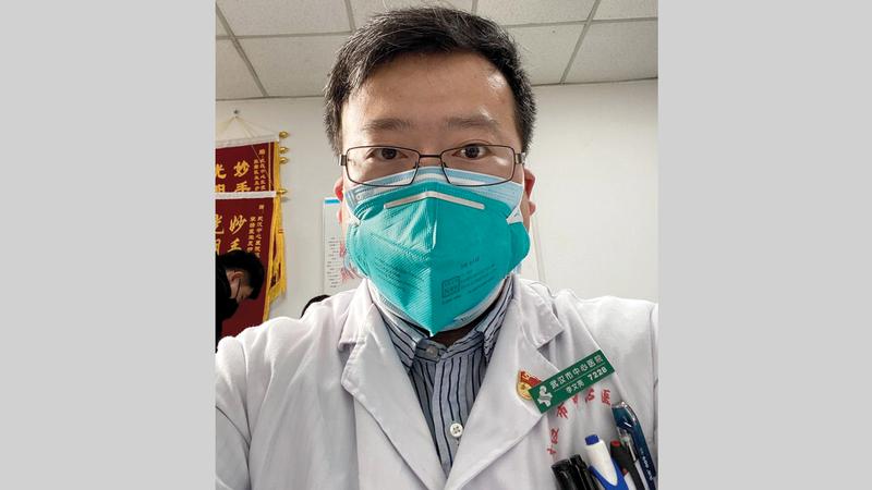 لي ويني لانغ كشف فيروس كورونا الجديد وتوفي أخيراً.  أرشيفية