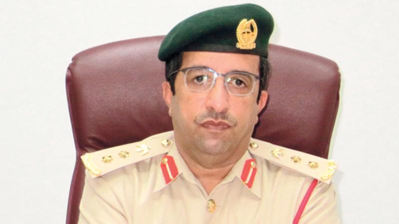 العقيد أحمد المري:  «فريق مسرح الجريمة يتعامل بكل دقة مع كل التفاصيل الموجودة في موقع الجريمة».