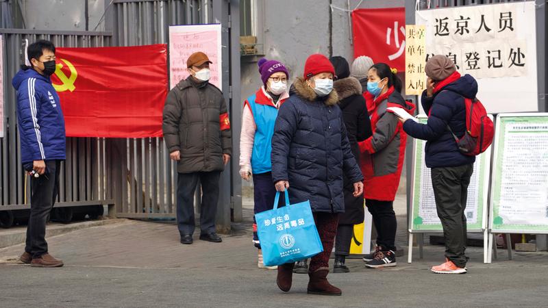 يرجع انتشار «كورونا» بشكل سريع إلى أن الفيروس قد تزامن ظهوره مع أكبر احتــفال صيني تقليدي هو «احتفال الربيع» حيث يتنقل الصينيون بين أرجاء الدولة.  أ.ب