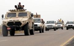 الصورة: الجيش اليمني يطوق مواقع الحـوثي في عقبة الجوف
