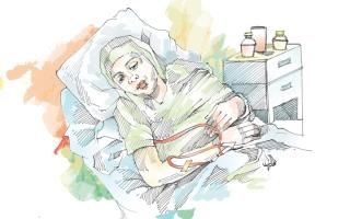 الصورة: «نادية» تواجه صعوبة في سداد فاتورة علاجها البالغة 11 ألف درهم