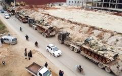 الصورة: التصعيد في إدلب يهدد بانهيار التوافق الروسي-التركي