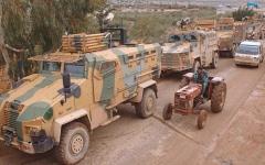 الصورة: تركيا تواصل حشد الجنود والأسلحة والمعدات العسكرية في إدلب