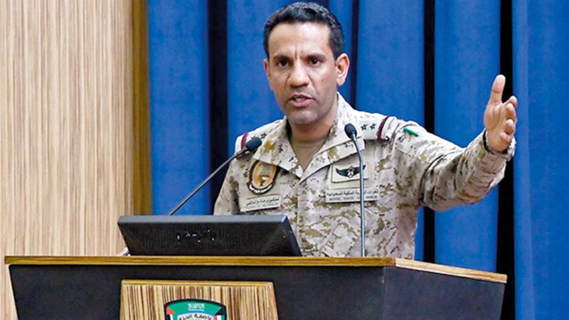 العقيد تركي المالكي:  «المقاتلة سقطت أثناء قيامها بمهمة إسناد جوي قريب للوحدات التابعة للجيش الوطني اليمني».