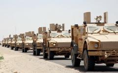 الصورة: عمليات نوعية لمقاتلات التحالف في جبهات الجوف وصنعاء وصعدة