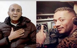 الصورة: أزمة الفنان والطيار تتواصل.. أبواليسر: الناس أخذت لي حقي من محمد رمضان