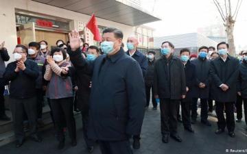 الصورة: صحيفة «بيبولز ديلي»: رئيس الصين عَلم بتفشي فيروس كورونا قبل أسابيع من الإعلان عنه