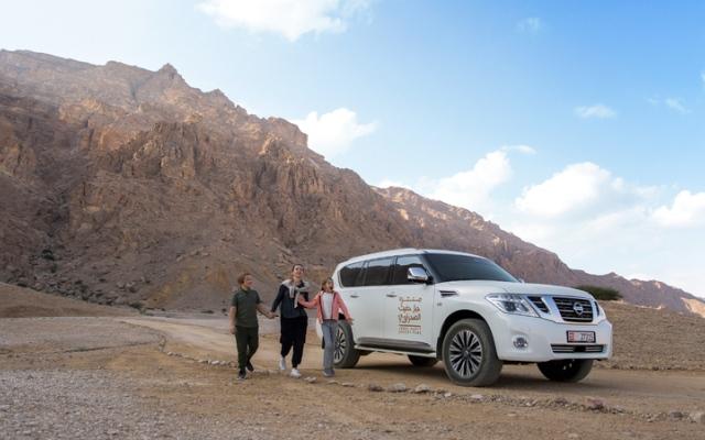 الصورة: منتزه جبل حفيت الصحراوي ... رحلة في عمق التاريخ