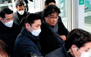 الصورة: استقبال حافل لمخرج «باراسايت» في كوريا الجنوبية
