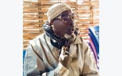 الصورة: مخيمات دارفور تعبّر عن فرحتها بقرار تسليم البشير إلـى «الجنائية الدولية»