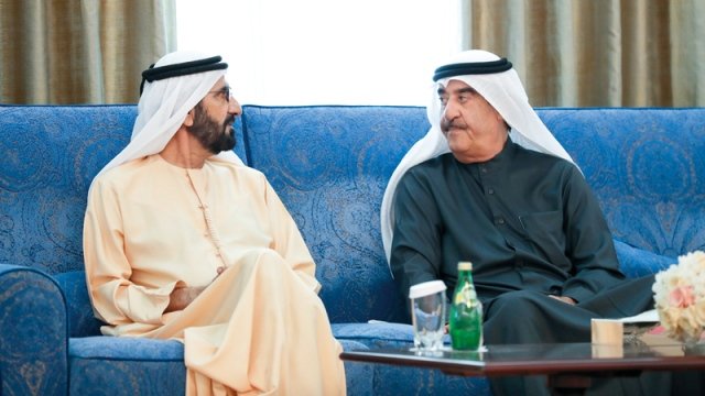 Mohammed Bin Rashid And The Rulers Condole Saud Al Mualla On The Death Of Sheikh Mohammed Al Shamsi Teller Report