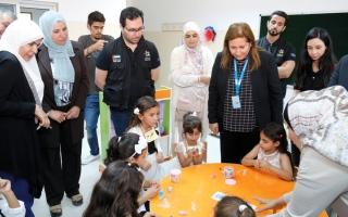 الصورة: «دبي العطاء» تطلق 3 برامج تعليمية في الأردن