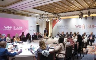 الصورة: حلقة وزارية لتحفيز النقاش حول سبل النهوض بالمرأة