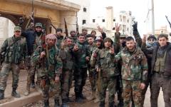 الصورة: الجيش يُحكم السيطرة على حلب.. والأسد يتعهد بـ«تحرير» جميع المناطق