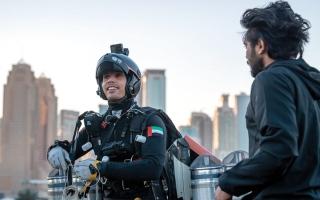 الصورة: «إكسبو 2020 دبي» يقدم للعالم مشروع «الطيران البشري»