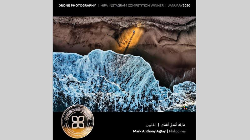 صورة الفلبيني مارك أنتوني أغتاي الفائز بجائزة «اختيار الجمهور». من المصدر