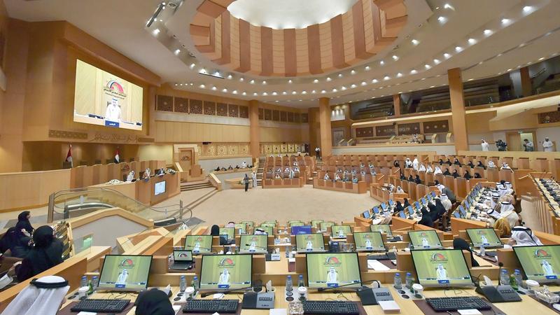 «الوطني» يناقش اليوم مشروع قانون اتحادي في شأن تنظيم المخزون الاستراتيجي للسلع الغذائية في الدولة.   من المصدر