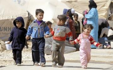 الصورة: نصف مليون طفل سوري يعانون العنف والبرد ونقص الغذاء