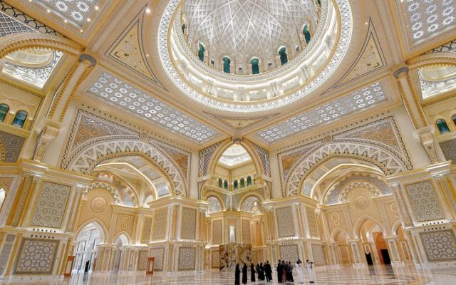 الصورة: قصر الوطن.. ذوق رفيع على مساحة 380 ألف متر مربع