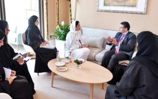 الصورة: مجلس الإمارات للتوازن بين الجنسين يبحث سبل تعزيز التعاون مع برنامج الأمم المتحدة الإنمائي
