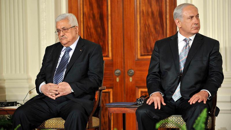 عباس ونتنياهو كان انعدام الثقة بينهما عميقاً.  رويترز