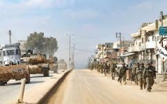 الصورة: أردوغان يهــدد الجيش الســوري بعملية عسكرية.. وروسيا تعتبره «السيناريو الأسوأ»