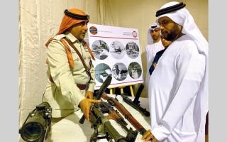 الصورة: أسلحة شرطة أبوظبي القديمة تحكي تاريخاً