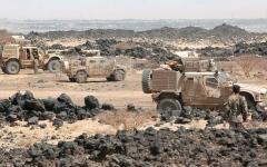 الصورة: القوات المشتركة والجنوبية تتجه إلى تحرير سلسلة جبال استراتيجية في الضالع