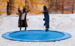 الصورة: «ديزرت إكس».. صحراء العُلا معرض فني مفتوح