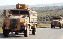الصورة: أردوغان: لن ننسحب من إدلب وموقفنا منها يتحدد بعد مناقشة الوضع مع بوتين