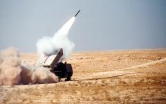 الصورة: الدفاع الجوي السعودي يعترض صواريخ بالستية أطلقت من صنعاء باتجاه المملكة