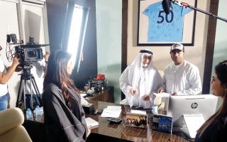 الصورة: «نحس إكس لارج»: حضور فاق التوقعات في دور السينما الإماراتية