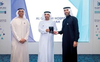 الصورة: «الصحة» تكرّم الفائزين «بجائزة الابتكار» في الشارقة