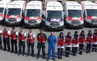 الصورة: «إسعاف دبي» تتعامل مع 185.7 ألف حالة خلال 2019