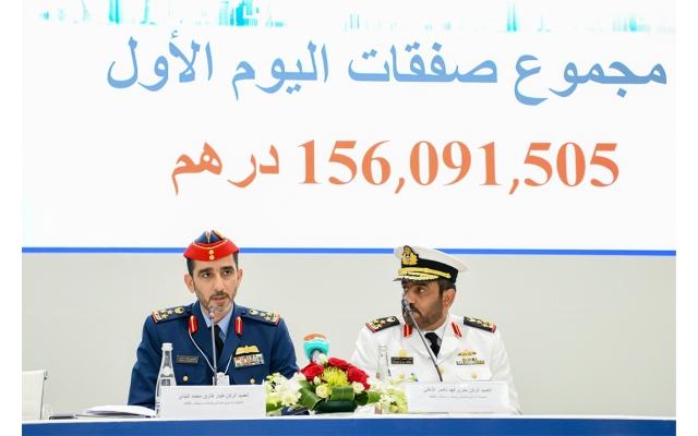 """الصورة: صفقات اليوم الأول من """"يومكس وسيمتكس"""" تتجاوز 156 مليون درهم"""