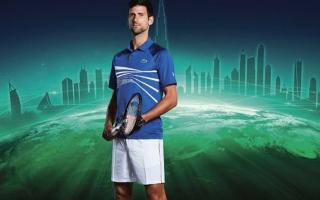 """الصورة: بالفيديو: نجوم التنس العالمي يعلنون التحدي قبل ضربة بداية """"تنس دبي"""" للرجال 2020"""