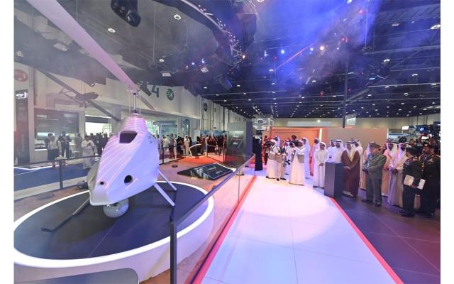 """الصورة: """"قرموشه"""" أول مروحية درون بميزة الإقلاع والهبوط العمودي صُنعت في الإمارات"""