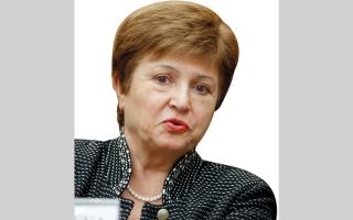 الصورة: غورغييفا: لدينا عدم يقين بشأن آثار «كورونا» على الاقتصاد العالمي